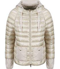 herno hoodie down jacket
