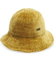 sombrero chenille mostaza humana