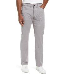 men's dl1961 russell slim straight leg jeans, size 40 x 34 - grey