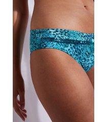 calzedonia bottoms swimsuit mauritius woman blue size 4