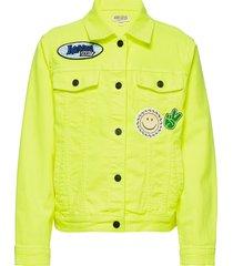 jabro outerwear jackets & coats denim & corduroy geel kenzo