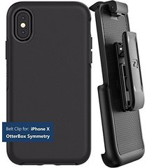 encased belt clip holster for otterbox symmetry series - apple iphone x (case no