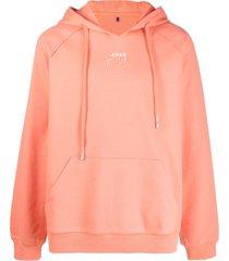 ader error logo-embellished hoodie
