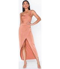 nly one cowl wrap skirt dress fodralklänningar