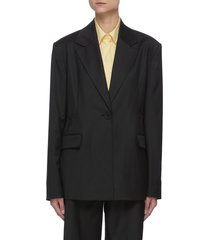 'carla' elasticated back blazer