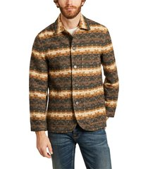 bakers chore urban mex woolen patterned jacket