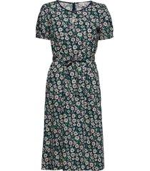 dresses light woven knälång klänning grön esprit casual