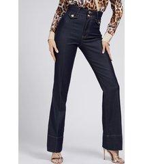 denimowe spodnie marciano fason fit&flare