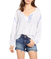women's rails finn tunic, size medium - blue
