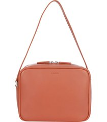 jil sander j-vision square shoulder bag