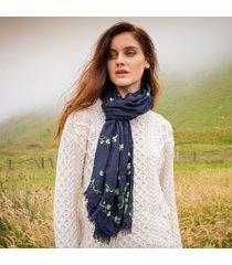 patrick francis shamrock scarf