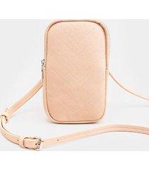 mariah wallet cellphone case - blush