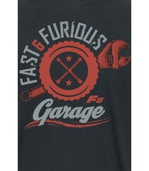 the fast and the furious fast & furious 8 - garage t-shirt svart