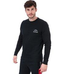 mens embroidered sweatshirt