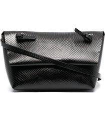 acne studios wallet pouch bag - black