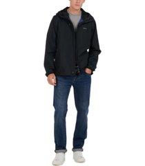 barbour men's oakwood waterproof hooded jacket