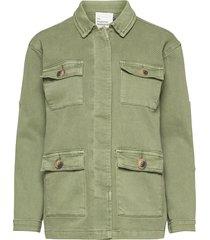 20 the army jacket outerwear jackets utility jackets groen denim hunter
