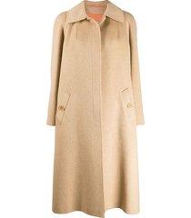a.n.g.e.l.o. vintage cult 1970s aquascutum coat - brown