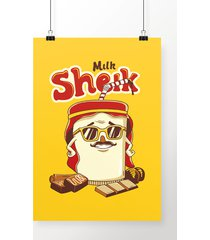 poster milk sheik