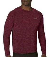camiseta lupo poliamida manga longa masculina