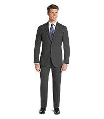 1905 collection slim fit mini check men's suit with brrr°® comfort by jos. a. bank