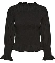highneck blouse
