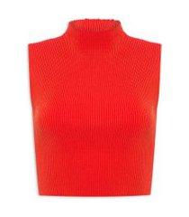 top knit travel - laranja