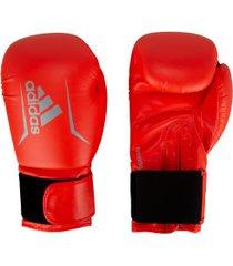 luvas de boxe adidas speed 50 plus - 14 oz - adulto - vermelho