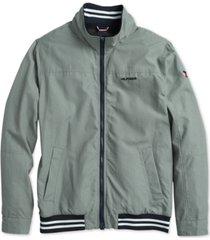 tommy hilfiger adaptive men's regatta jacket with magnetic zipper