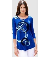 shirt paola royal blue