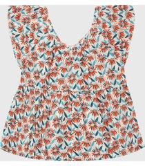 blusa multicolor boboli