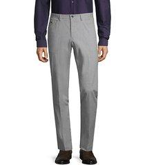 standard-fit stretch-cotton pants