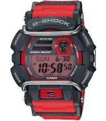 reloj g shock gd_400_4 rojo resina hombre