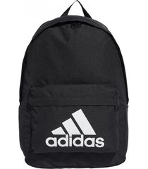 mochila negra adidas classic logo