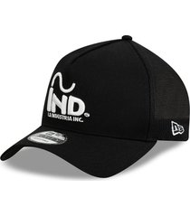 gorra negro new era 940 la industria inc-new era