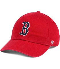 '47 brand boston red sox core clean up cap