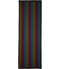 women's loewe anagram logo wool, silk & cashmere scarf