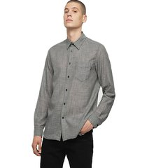 camisa s stryped new shirt gris diesel