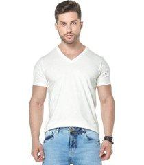 camiseta osmoze gola v z 110112807 branco pp - masculino
