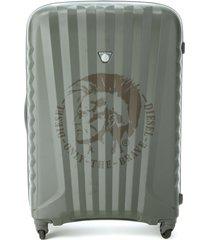 diesel travel suitcase - grey