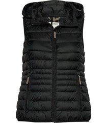 vests outdoor woven vest zwart esprit casual