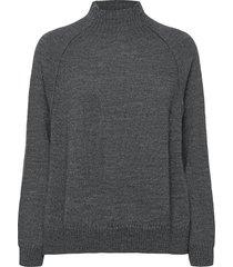 caylin stickad tröja grå rabens sal r