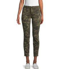 dl1961 women's florence mid-rise ankle skinny jeans - marsh - size 32 (10-12)