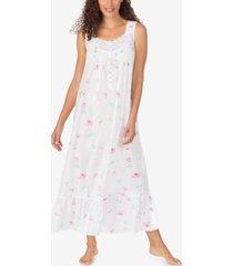 eileen west cotton swiss dot ballet nightgown