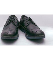 zapatos oxford negro 40