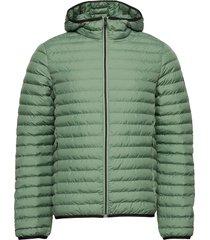 atlantic jacket man fodrad jacka grön ecoalf