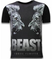 beast - digital rhinestone t-shirt