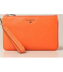 michael michael kors clutch michael michael kors clutch bag in hammered leather