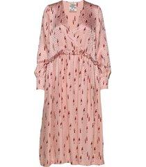 aedon jurk knielengte roze baum und pferdgarten