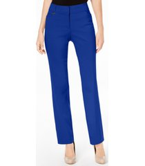 jm collection curvy-fit straight-leg pants, created for macy's